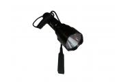 Тактический фонарь для охоты, установка на сайгу и ак