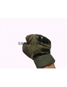 Тактические перчатки с кастетом