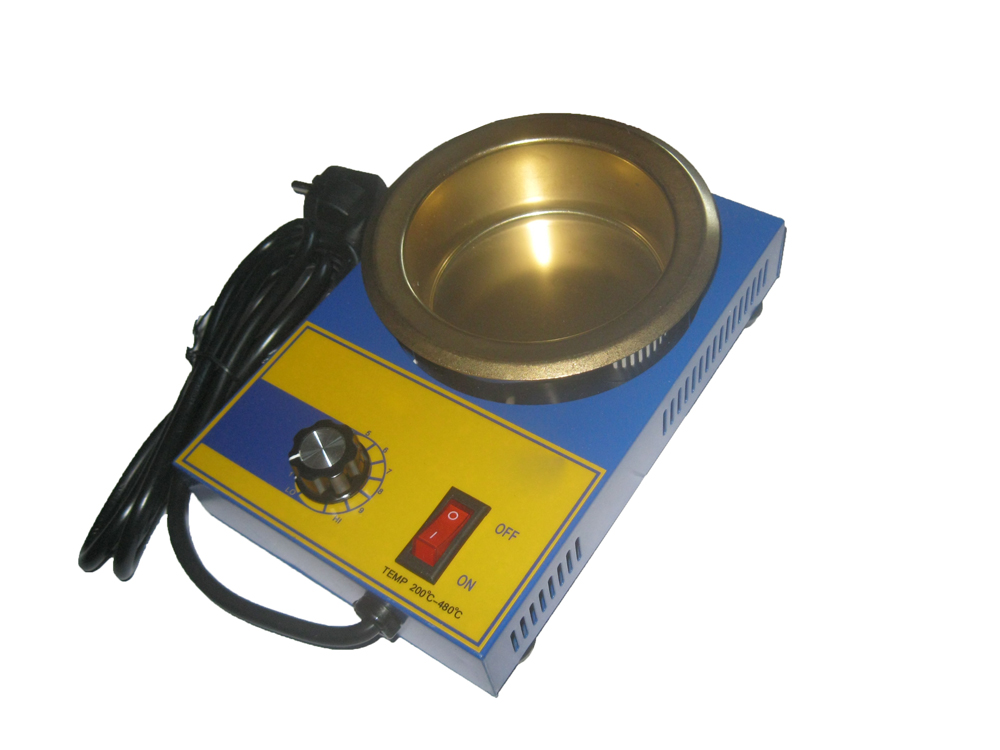Электрический тигель для свинца