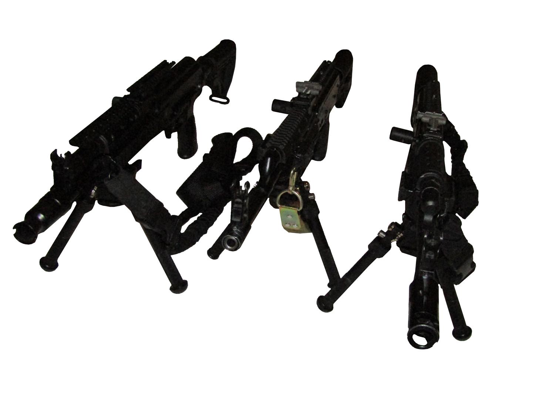 Сошки телескопические для точной стрельбы